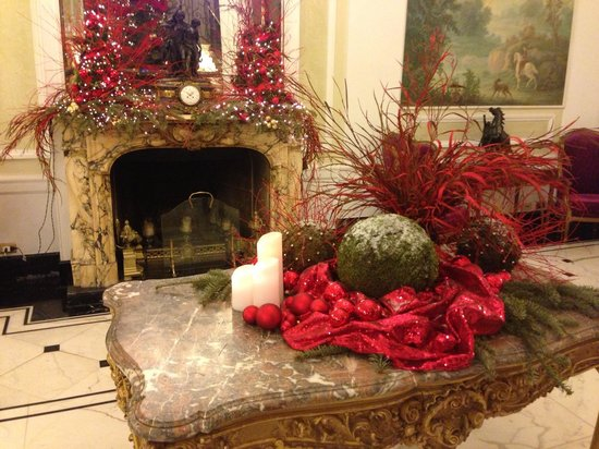 "Grand Hotel Majestic ""Già Baglioni"" : The lobby."
