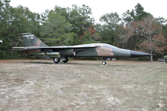 F-111 - Picture of Air Force Armament Museum, Fort Walton ...