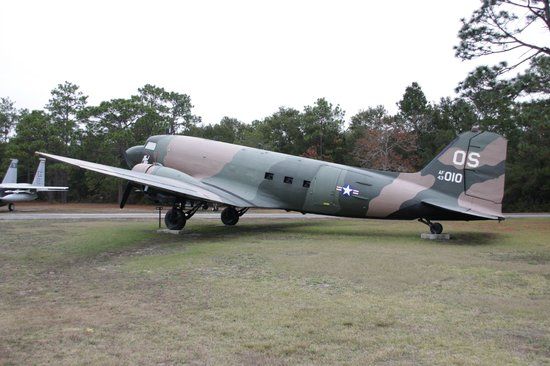 Air Force Armament Museum: Dakota gunship