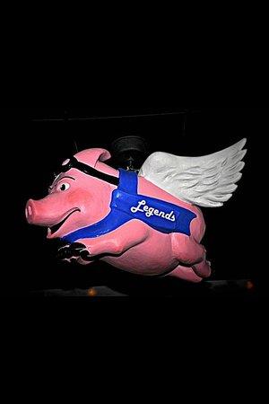Legends Food and Sport: Flying Pig