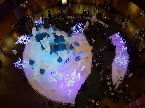 The Dubai Mall : Christmas