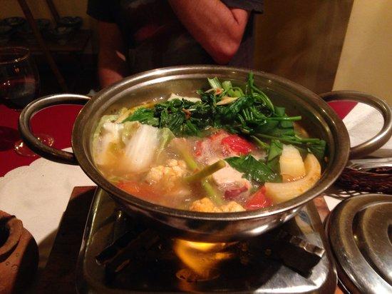 Kirin: Seafood hot pot for 1