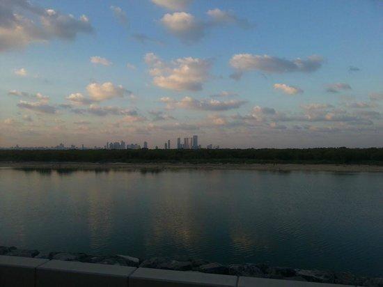 Anantara Eastern Mangroves Hotel & Spa: Abu Dhabi Skyline