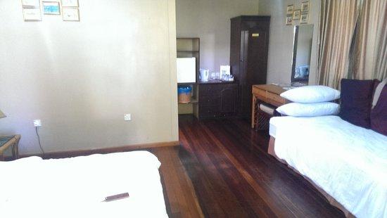 Langkah Syabas Beach Resort: View of room from door