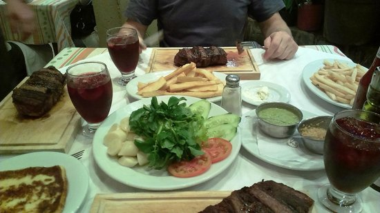 Maute Grill: Наш скромный ужин