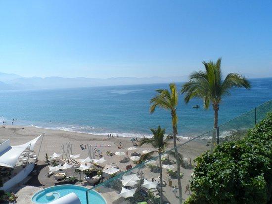 Hilton Puerto Vallarta Resort: View from Terrace