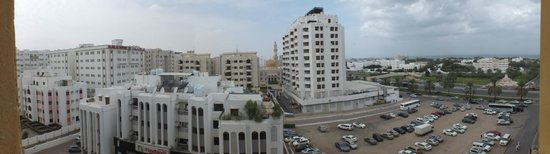 City Seasons Hotel Muscat: Panorama from the room