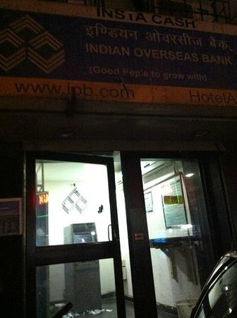 bloomrooms @ New Delhi Railway Station : atm next to hotel