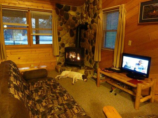 Little Pond Lodge: Living room