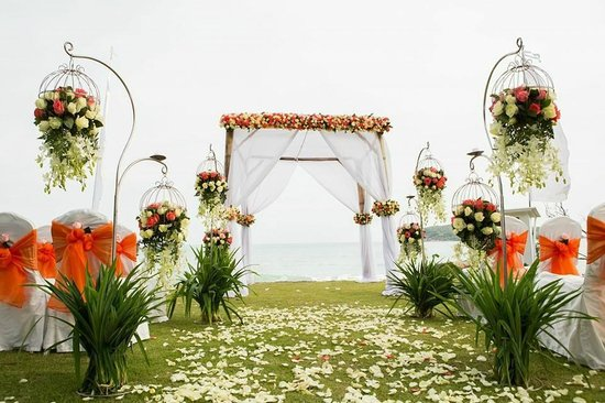Nora Buri Resort & Spa: our wedding gazebo