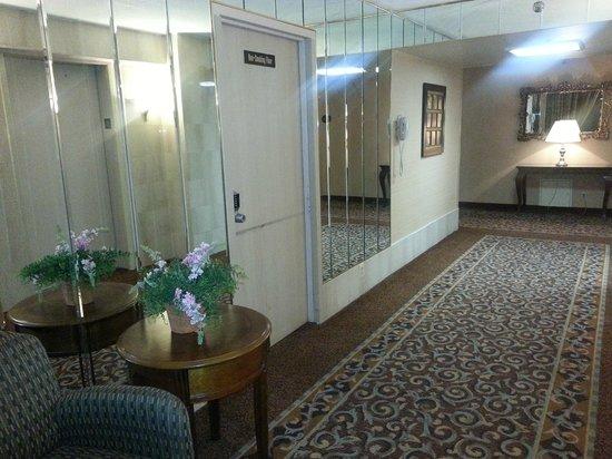 Poughkeepsie Grand Hotel: Hallway near Elevators