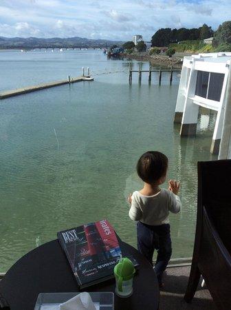 Trinity Wharf Tauranga: Window View