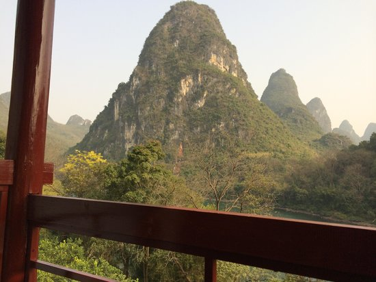 Li River Resort: View from the room