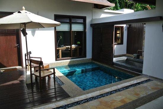 The Banjaran Hotsprings Retreat : Villa pool