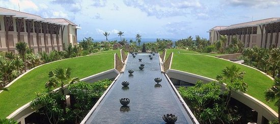 stunning view from the lobby picture of sofitel bali nusa dua beach resort nusa dua tripadvisor. Black Bedroom Furniture Sets. Home Design Ideas