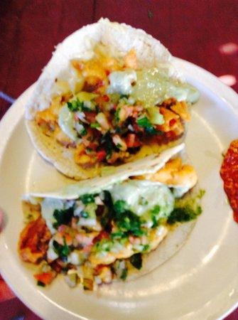 Restaurantes Bismark: Shrimp tacos