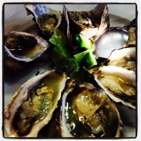 Restaurantes Bismark: Oysters