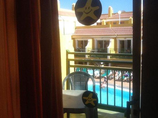 Aparthotel Caleta Garden: View from kitchen