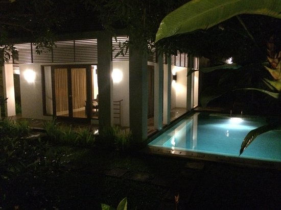 The Samaya Bali Ubud: Villa by Night