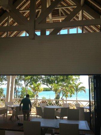 Radisson Blu Azuri Resort & Spa, Mauritius : View from one of the restaurants