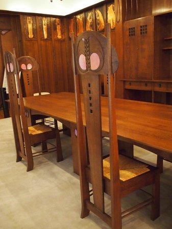 Hida Takayama Museum of Art : Mackintosh room recreated