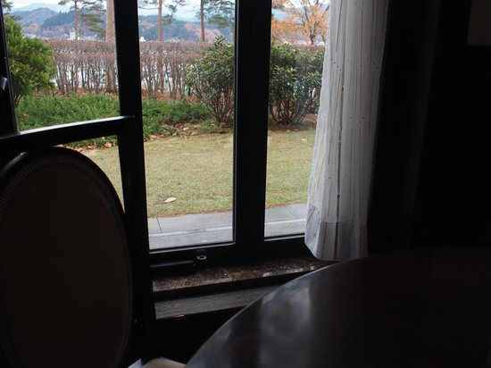 Hida Takayama Museum of Art : View from cafe window
