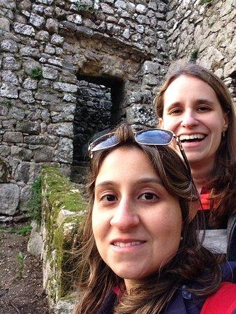 Castle of the Moors : Entrada de uma das torres