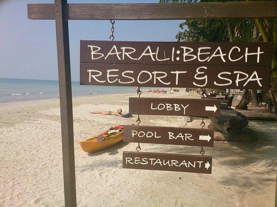 Barali Beach Resort : BEACH