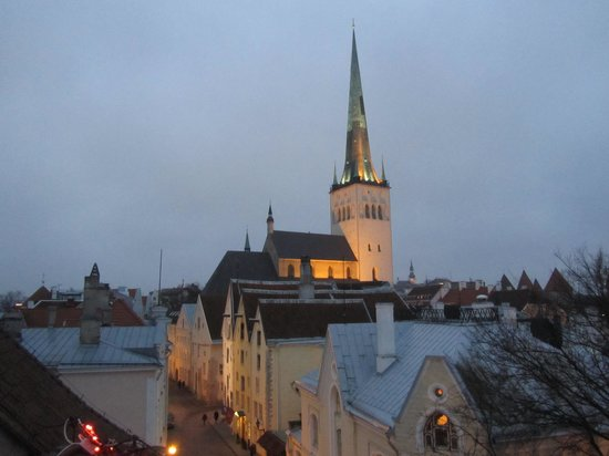 Fat Margaret (Paks Margareeta): View from the rooftop terrace towards Old Town