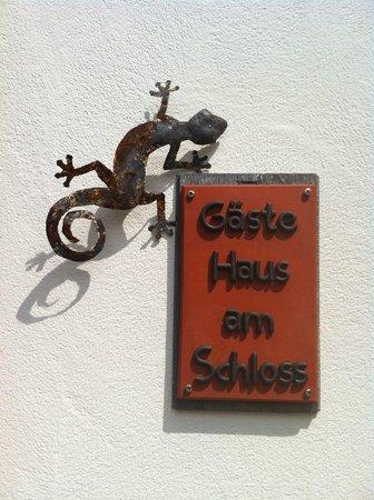 Gastehaus am Schloss: Gästehaus am Schloss (Eingang)