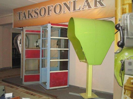 Museum of Communication History : Telephone kiosks
