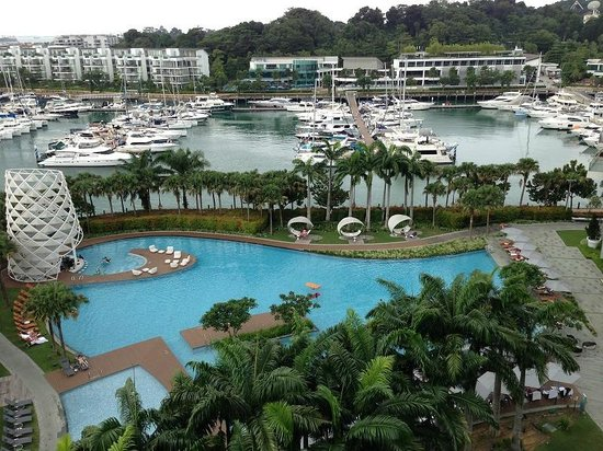 W Singapore Sentosa Cove : View from balcony