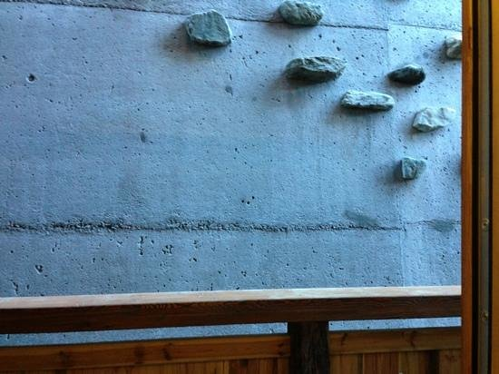 Nendaz, Suisse : great view...! a concrete wall!
