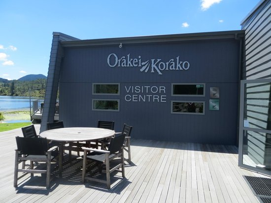Orakei Korako Cave & Thermal Park: Main building