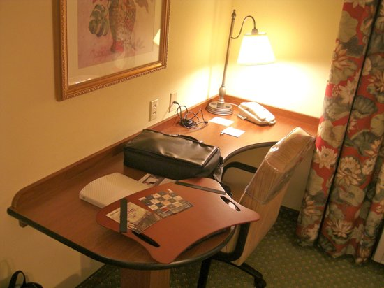 Hampton Inn & Suites Fort Myers - Colonial Blvd : Nice spacious desk
