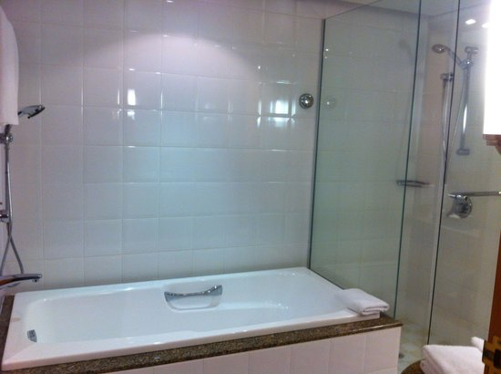 Rendezvous Hotel Auckland : Bath & shower