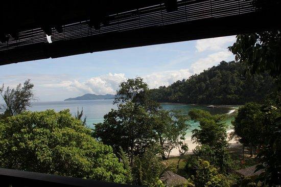 Bunga Raya Island Resort & Spa: View from Villa 23