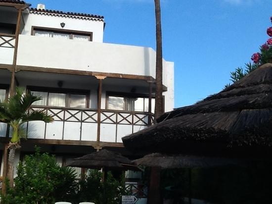 Hacienda Del Sol: our room