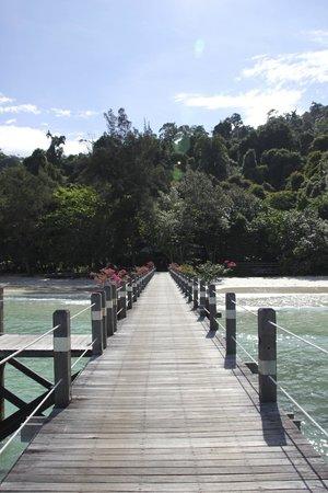 Bunga Raya Island Resort & Spa: The Jetty