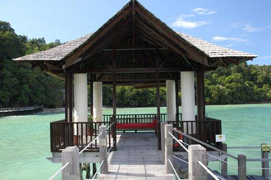 Bunga Raya Island Resort : The Jetty
