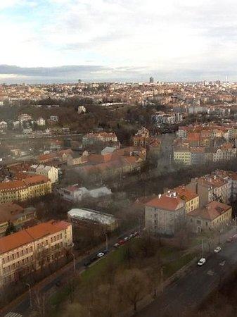 Corinthia Hotel Prague: lidt af udsigten, som dækker hele byen.