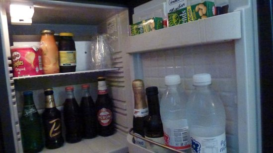 Hotel Abruzzi : Fridge