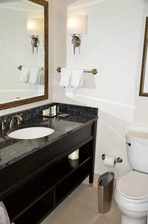 Capital Hilton: baño