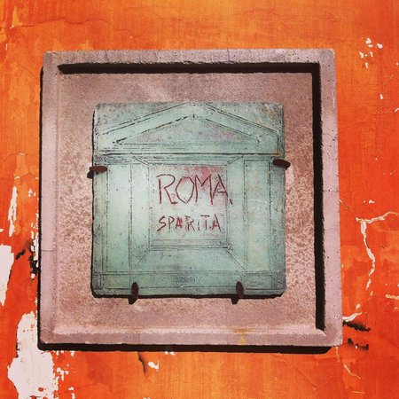 Ristorante Roma Sparita: Outside Entrance Sign