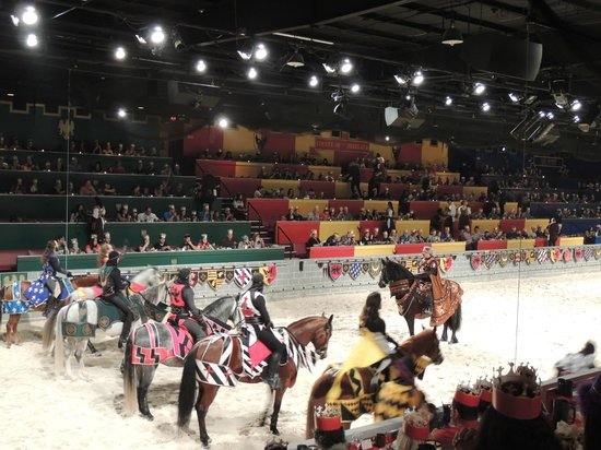Medieval Times Dinner & Tournament: arquibancas