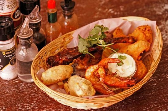 Cafe Mojito: Tapas Basket for One - Delicious