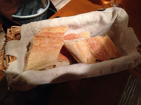 L'etable: Corbeille de pain ( non surgelé !!) . Pain frais et bon
