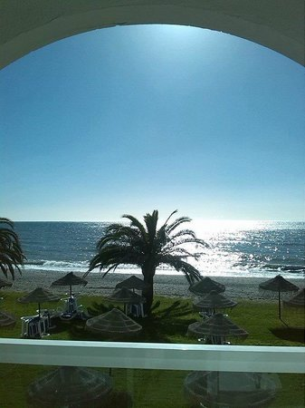 Marinas de Nerja Aparthotel : view from our balcony
