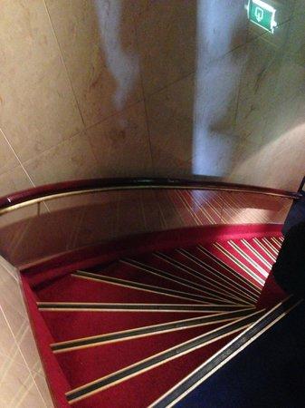 Hotel Nadia : Treppen (extrem steil!)