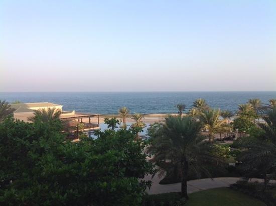 Anantara Desert Islands Resort & Spa: vue de la chambre